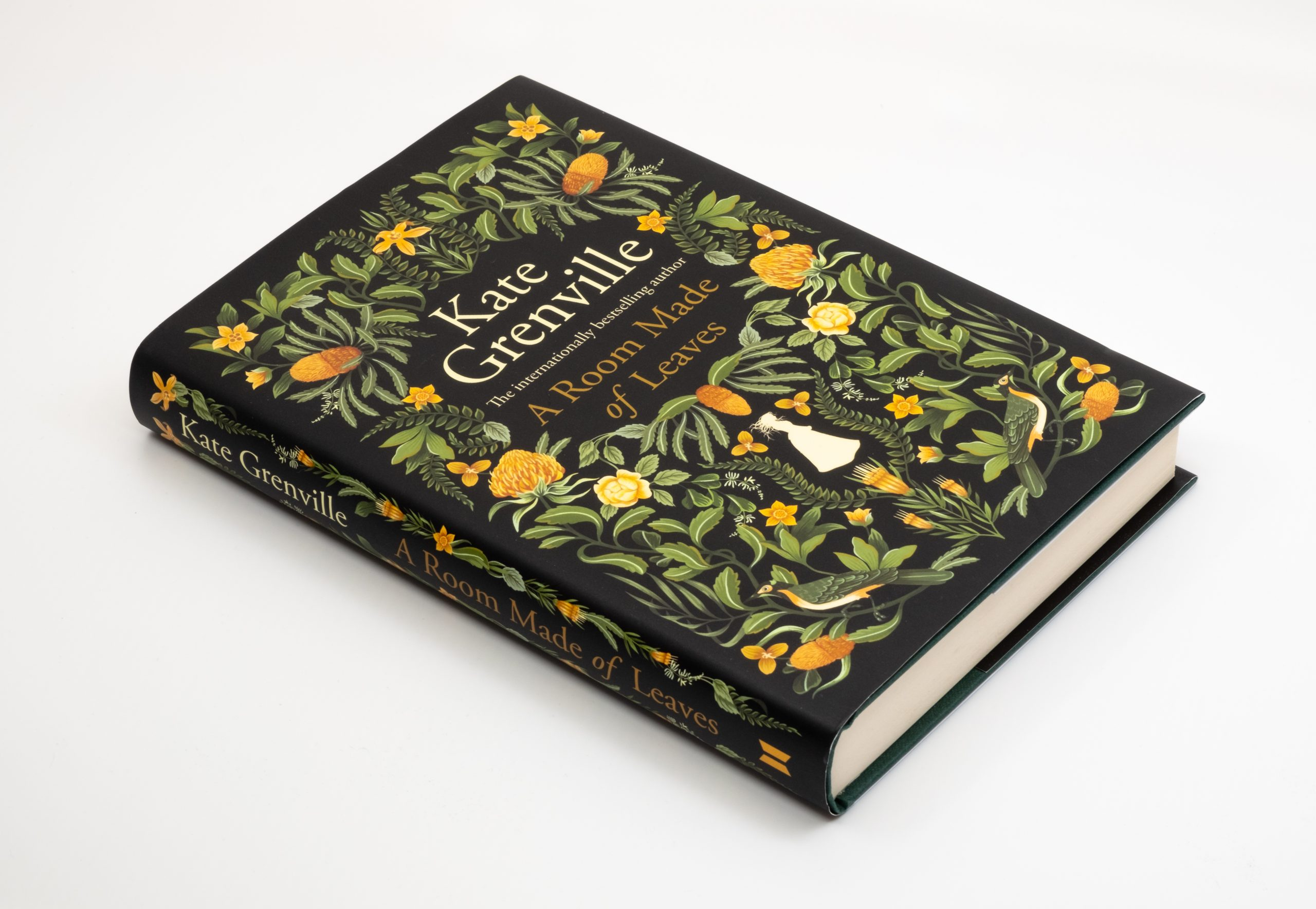 Photo of Kate Grenville's new novel A Room Made of Leaves