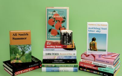 Photo of Chase and Wonder candle and Women's Prize 2021 longlisted books