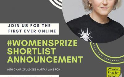 2020 Women's Prize shortlist announcement