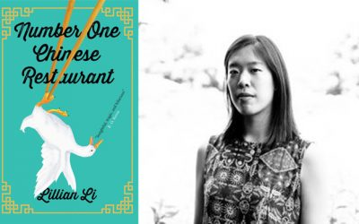 Photo of Lillian Li and her novel Number One Chinese Restaurant