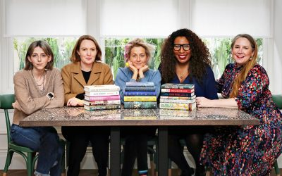 Photo of the 2020 Women's Prize for Fiction judges announcing the 2020 Women's Prize longlist