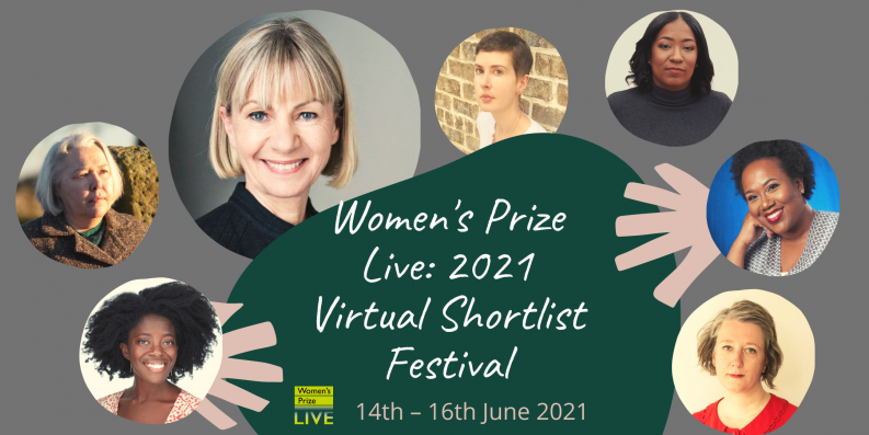 Photo of the Women's Prize for Fiction shortlisted authors to promote the Virtual Shortlist Festival literary event