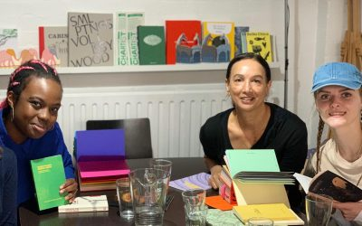 Photo of Hounslow Action For Youth Young Women's Creative Writing Group participants
